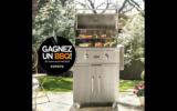 Un barbecue gril Coyote 28po