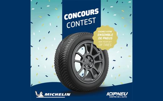 Un ensemble de 4 pneus CrossClimate 2 de Michelin