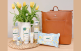 Un sac Lambert + un assortiment de produits Klorane
