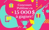 15 000 $ en Cartes Cadeaux