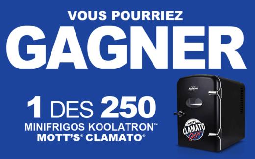 250 mini réfrigérateurs Koolatron