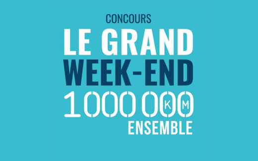 50 ensembles Grand week-end (500 $ chacun)
