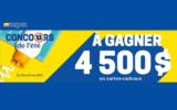 8 cartes-cadeaux BBQ Québec de 500 $