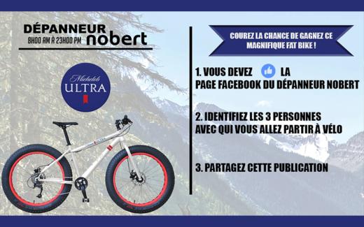 Un VTT Fat Bike
