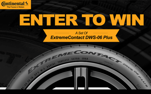 Gagnez un ensemble de pneus ExtremeContact