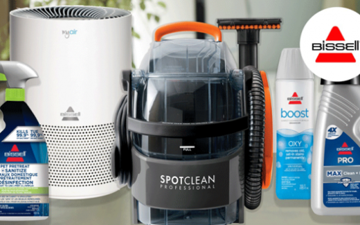 Un ensemble pour le nettoyage professionnel de chez Bissel