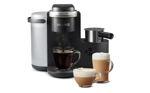 Une machine à cappuccino Keurig