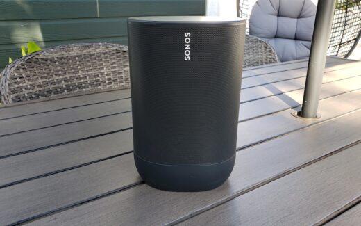 Un haut parleur intelligent Sonos Move