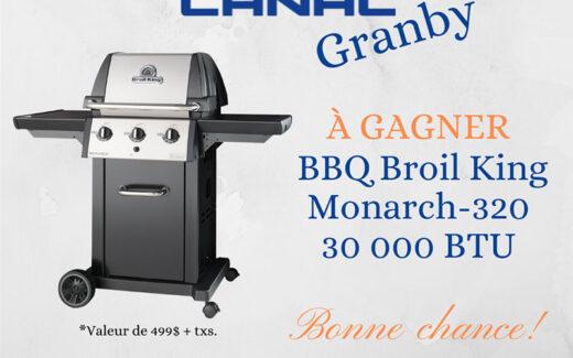Un BBQ Broil King Monarch-320 30 000 BTU