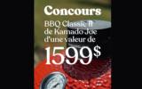Un barbecue au charbon Classic II de 1599 $