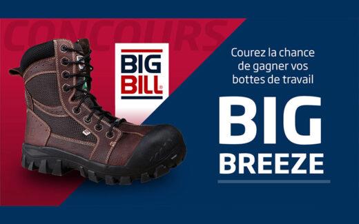 Une paire de bottes de travail Big Breeze de Big Bill