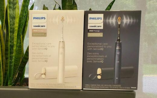 2 brosses à dents Sonicare 9900 Philips de 500 $ chacune