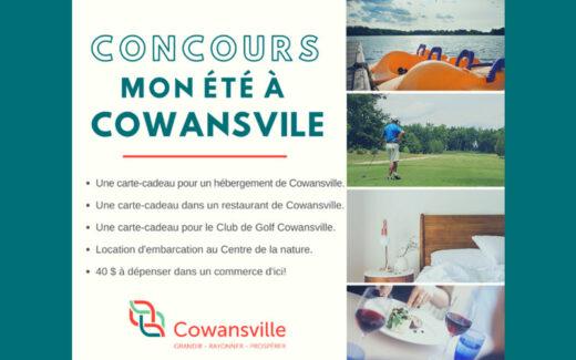 3 séjours pour 2 personnes à Cowansville