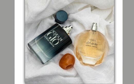 6 duos de parfum Giorgio Armani
