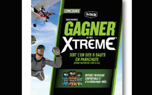 6 sauts en parachute de 1000 $ chacun