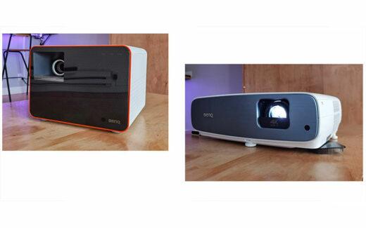 2 projecteurs BenQ d'une valeur totale de 3550 $