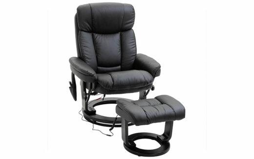 Un fauteuil de massage inclinable HOMCOM