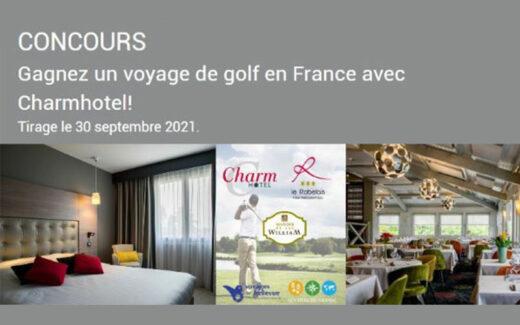Un voyage pour deux en France (Valeur de 6200 $)