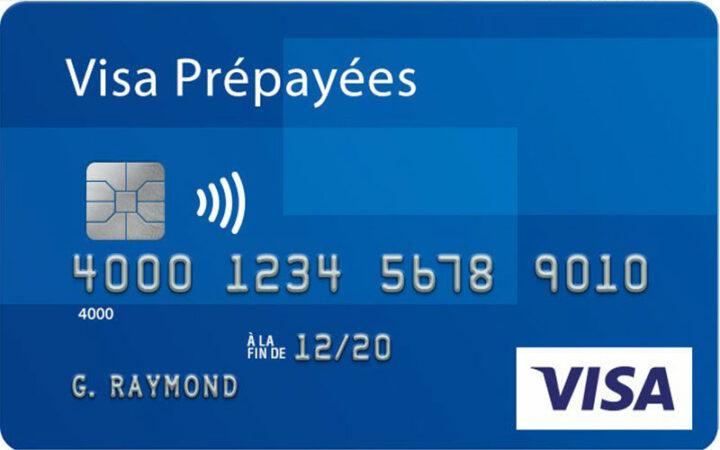 Une carte prépayée Visa de 5000 $