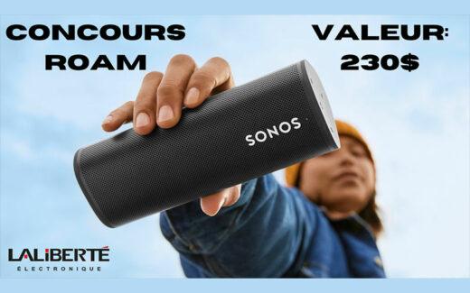 Un haut-parleur portable SONOS