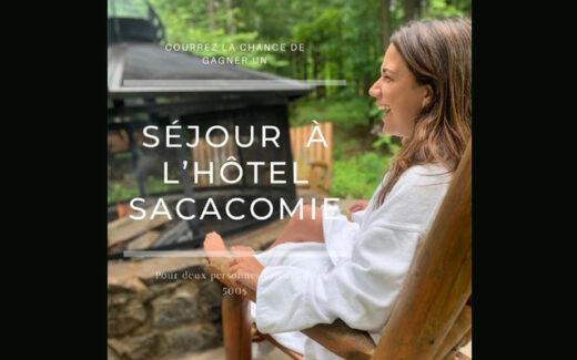 Un séjour pour deux personnes à l'Hotel Sacacomie