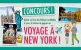 Un voyage pour 4 personnes à New York