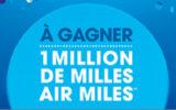 1 million de milles AIR MILES