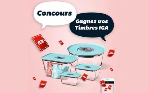 30 prix de 100 Timbres IGA