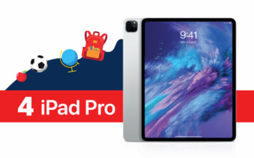 4 iPad Pro de 12.9po 256Go (1428 $ chacun)