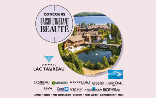 4 séjours à L'auberge du Lac Taureau de 5000 $ chacun