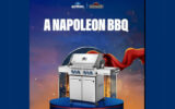 6 BBQ Napoléon Prestige 500 RSIB