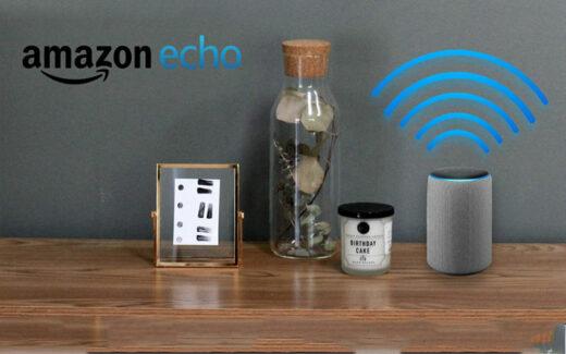 Un haut-parleur intelligent Echo Plus d'Amazon