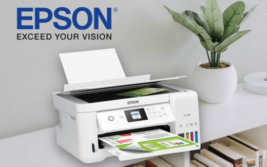 Une imprimante EcoTank ET-2760 Epson