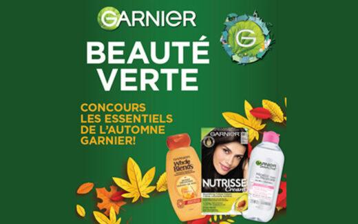 4 cartes cadeaux Decathlon de 1000 $ + produits Garnier