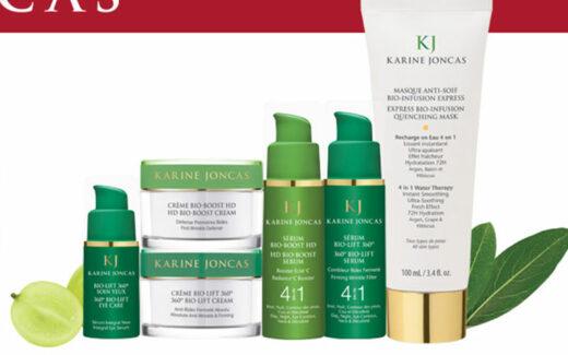 5 paniers-cadeaux BIO Karine Joncas (250 $ chacun)