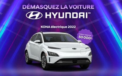 Un nouveau KONA électrique 2022 (Valeur de 50 000 $)
