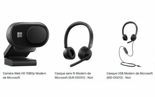 Des accessoires Modern de Microsoft