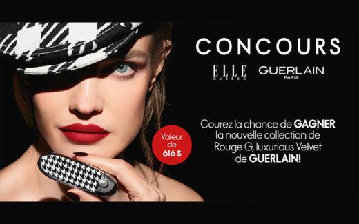 Un ensemble de 6 rouges à lèvres Guerlain (616 $)