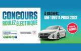 Un véhicule électrique Toyota Prius 2022
