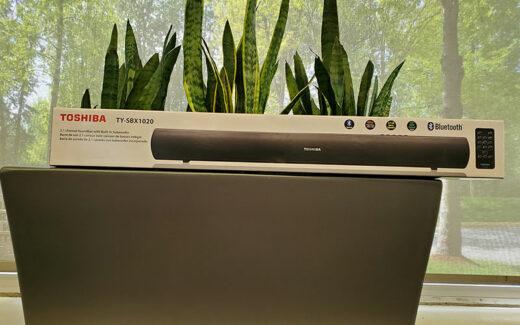 Une barre de son Toshiba SBX-1020