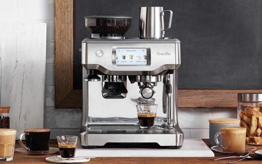 Une machine à espresso Breville Barista Touch