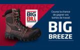 Une paire de bottes de travail Big Breeze Big Bill