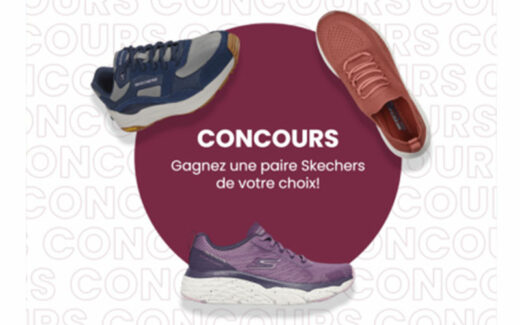 Une paire de chaussures Skechers au choix