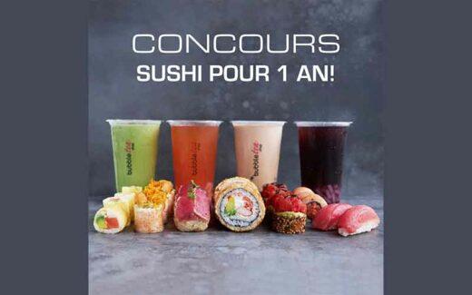 1 an de Sushi