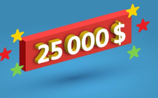 50 lots de 50 000 points Familiplus (25 000 $)