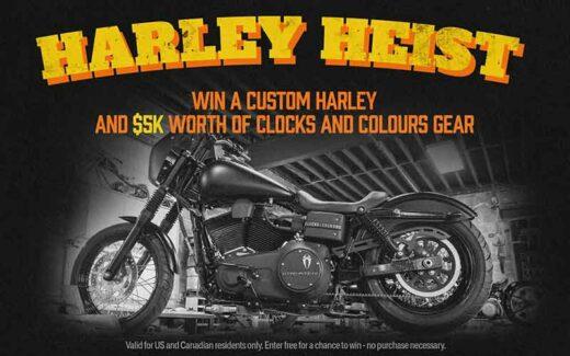 Une moto Harley Davidson (24 000 $)