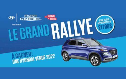 Une voiture Hyundai Venue Essential 2022